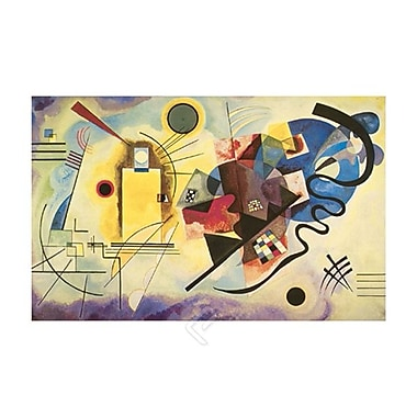 Yellow, Red, Blue Art Print Poster by Kandinsky , 23.75