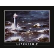 "Motivational Leadership Art Print Poster for Office, 22"" x 28"""