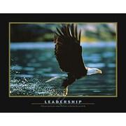 "Motivational Leadership Art Print Poster, 22"" x 28"""