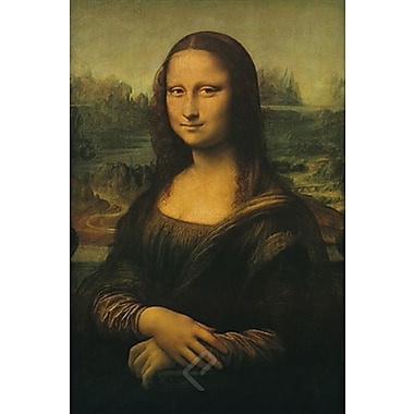 Affiche imprimée, Mona Lisa de Da Vinci, 24 x 36 po