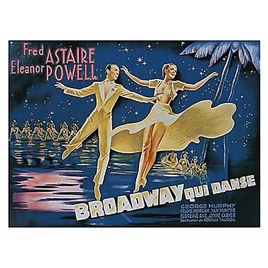 Broadway Qui Danse Poster, 23-5/8