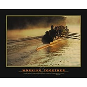 """Motivational Working Together Poster, 27 5/8"""" x 39 3/8"""""""