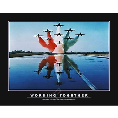 Motivational Working Together Poster, 31.5