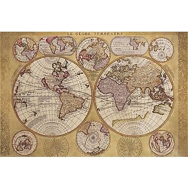 Map - Globe Terrestre Poster, 36