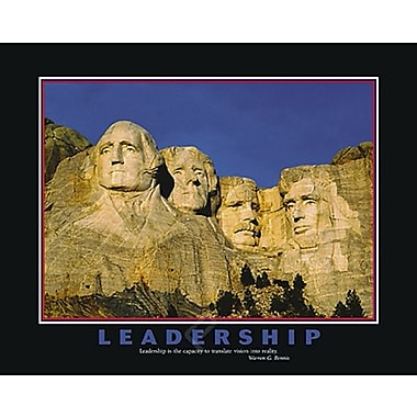 Motivational Leadership Poster, 23.75