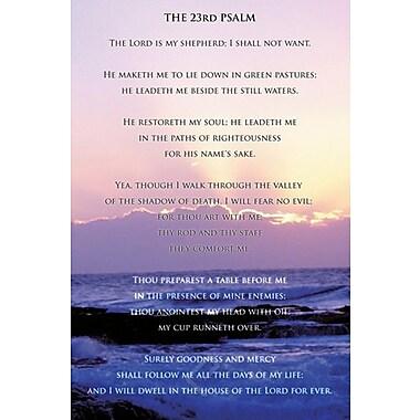 23rd Psalm Poster, 36