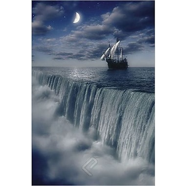 Sailing Ship at Earth's End Poster, 36