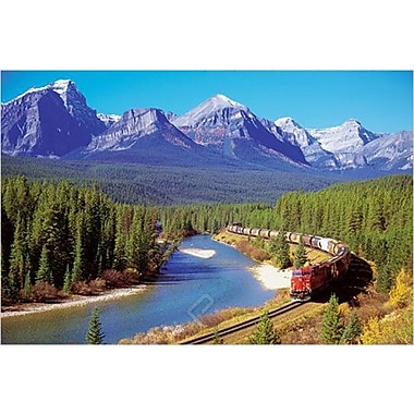 Train In The Rockies Poster, 36
