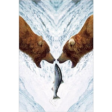 Two Bears For One Fish Poster, 36