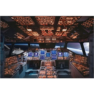 Space Shuttle Cockpit Columbia Poster, 36