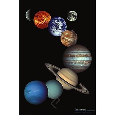 NASA Solar System Poster, 24