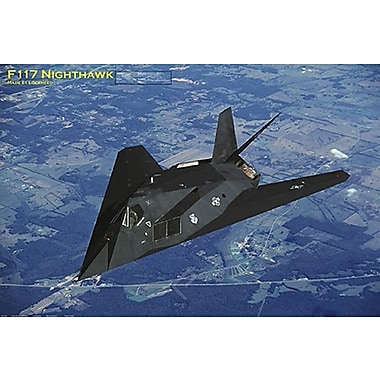 F- 117 Nighthawk Poster, Military Aircrafts, 24