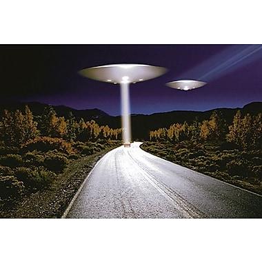 UFO Invasion Poster, 24