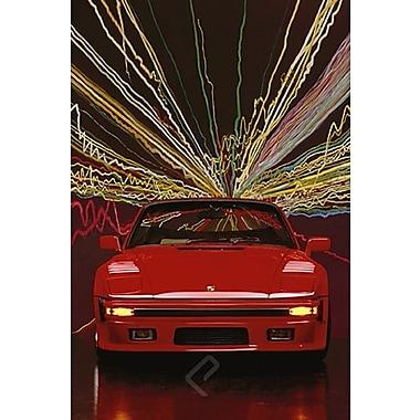 Porsche 911 Slope Nose cabriolet, affiche, 24 x 36 po