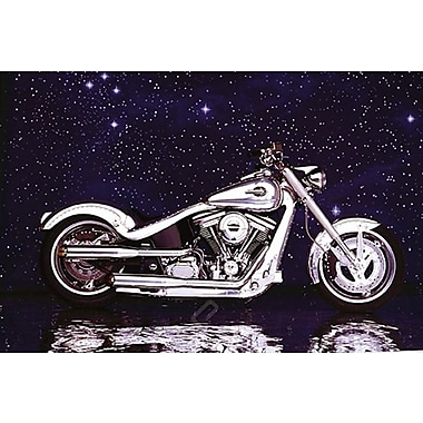 Motorcycle Big Twin Softail Poster, 24