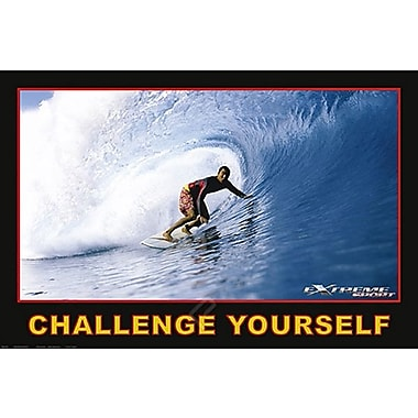 Surfing Challenge Yourself Poster, 24