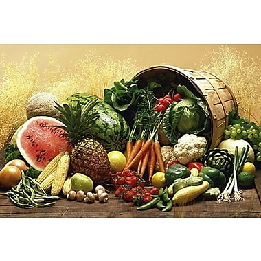 Fruits and Vegetables Poster, 24