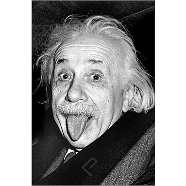 Einstein - Tongue Poster, 24