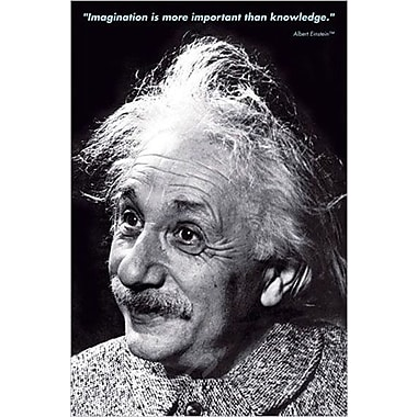 Einstein - Imagination Poster, Celebrities 24