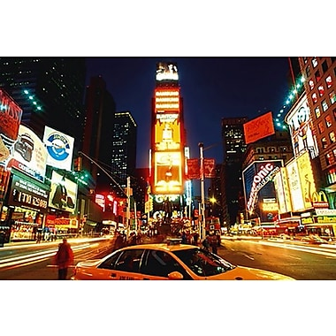 Time Square, New York, affiche, 24 x 36 po