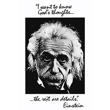 Einstein - God's Thoughts Poster, 24