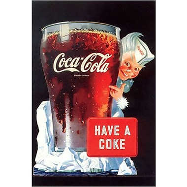 Have a Coke, affiche, 24 x 36 po