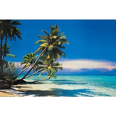 Tropical Beach & Ocean Poster, 24