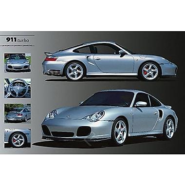 Porsche 911 Turbo Poster, 24