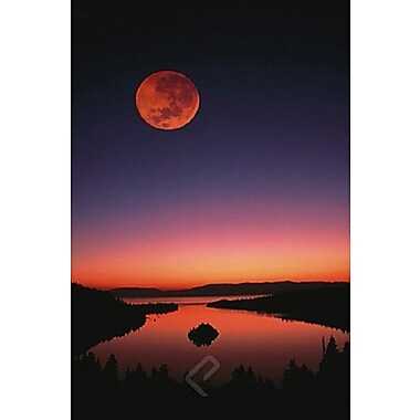 Lake Tahoe at Night Poster, 24