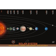 "Solar System Poster, 24"" x 36"""