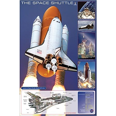Space Shuttle Poster, 24