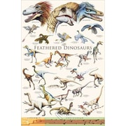 """Feathered Dinosaurs 2 Poster, 24"""" x 36"""""""