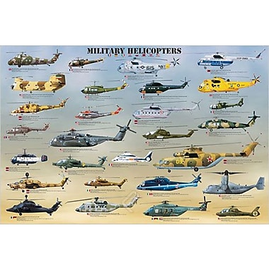 Military Helicopters Poster, 36