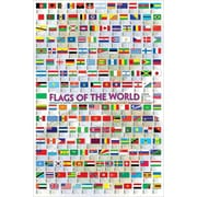 "Flags of the World Poster, 24"" x 36"""