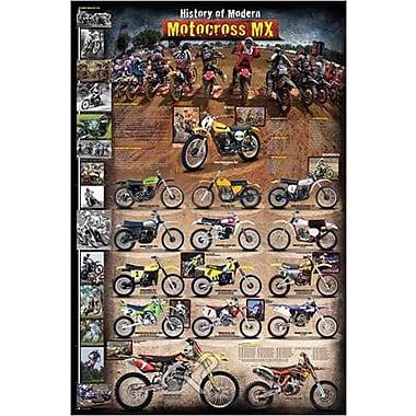 Motocross MX Modern Poster, 24