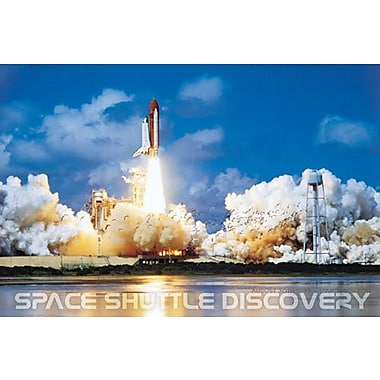 Shuttle Discovery Launch Poster, 36