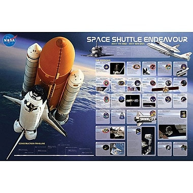 Shuttle Endeavour Missions0912 Poster, 36