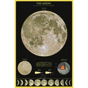 """The Moon Poster, 24"""" x 36"""""""
