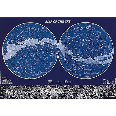 Map of the Sky Poster, 26-3/4