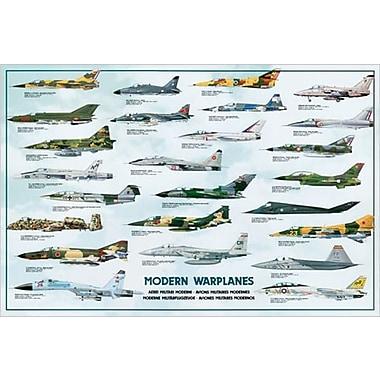 Modern Warplanes Poster, 24