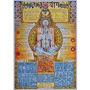 "Yoga Poster, 26.75"" x 38.5"""