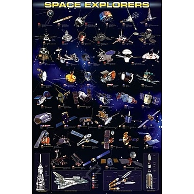 Space Explorers Poster, 24