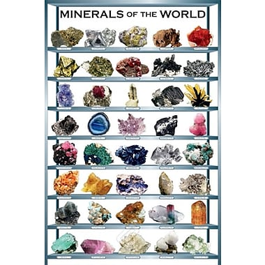 Minerals of the World Poster, 24