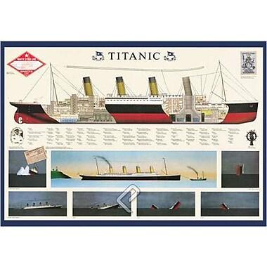 Titanic Poster, 26 3/4