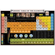 "Periodic Table of Elements Poster, 26.75"" x 38.5"""