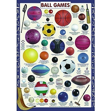 Ball Games Poster, 26-3/4