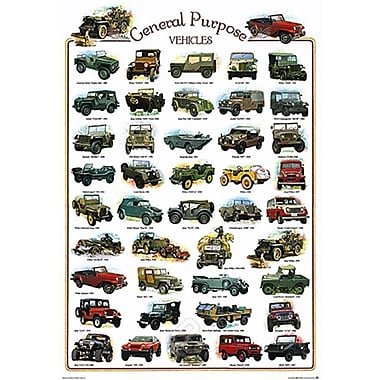 General Purpose Vehicles Poster, 26-3/4