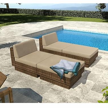 Sonax™ Park Terrace 4-Piece Lounger Patio Set