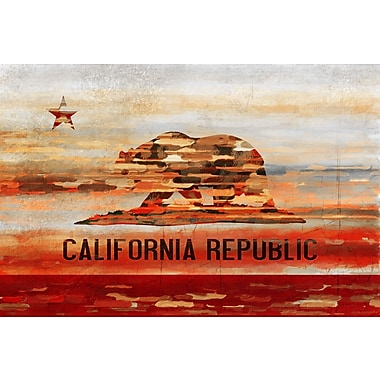 Marmont HIll 'Cali' Painting Print on Wrapped Canvas; 16'' H x 24'' W