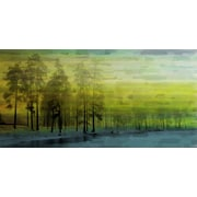 Marmont HIll 'Ice Lake' Painting Print on Wrapped Canvas; 22.5'' H x 45'' W